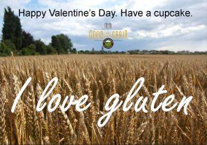 I love gluten Valentine