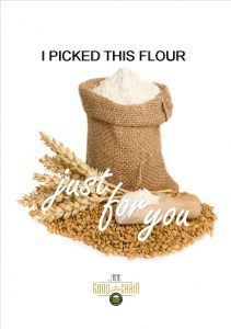 I picked this flour just for you Valentine