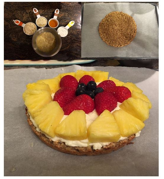Oatmeal fruitcake
