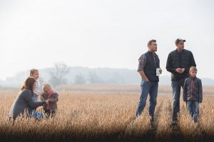 Chris Soules and the Haanstra family