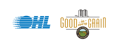 OHL and Good in Every Grain logos