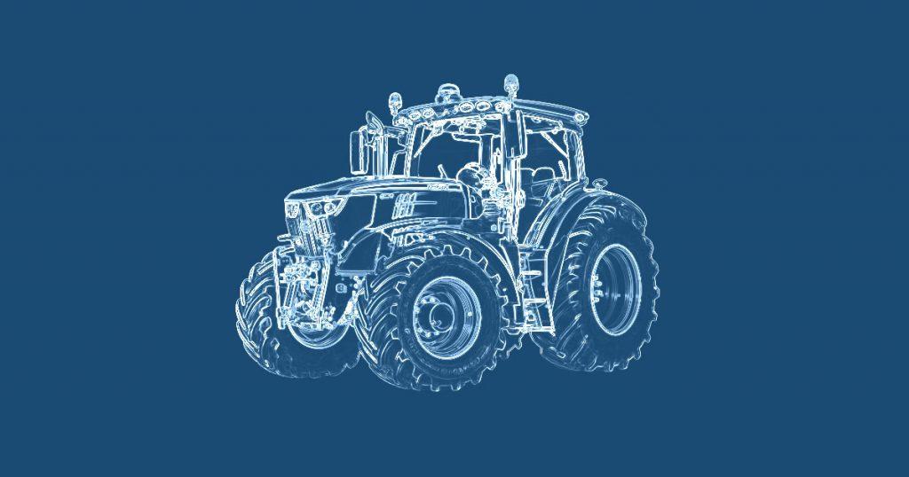 Tractor blueprint