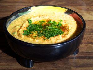 Soybean falafel wrap