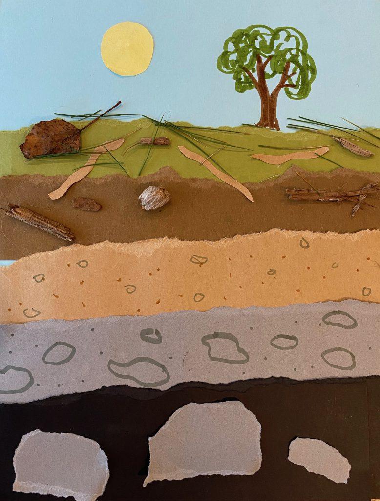 soil collage